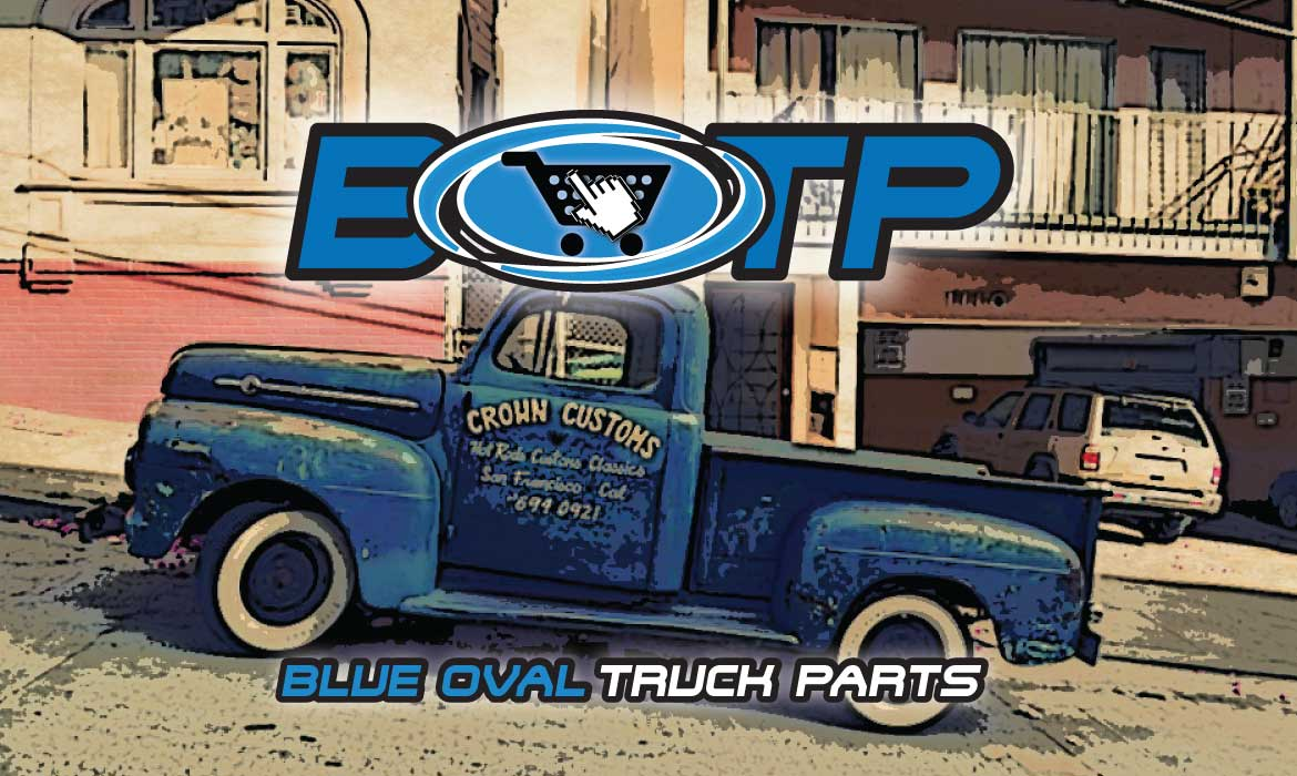 Blue Oval Truck Parts